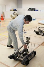現場調査用ロボット