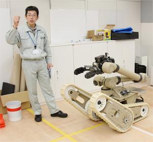 瓦礫撤去作業用ロボット